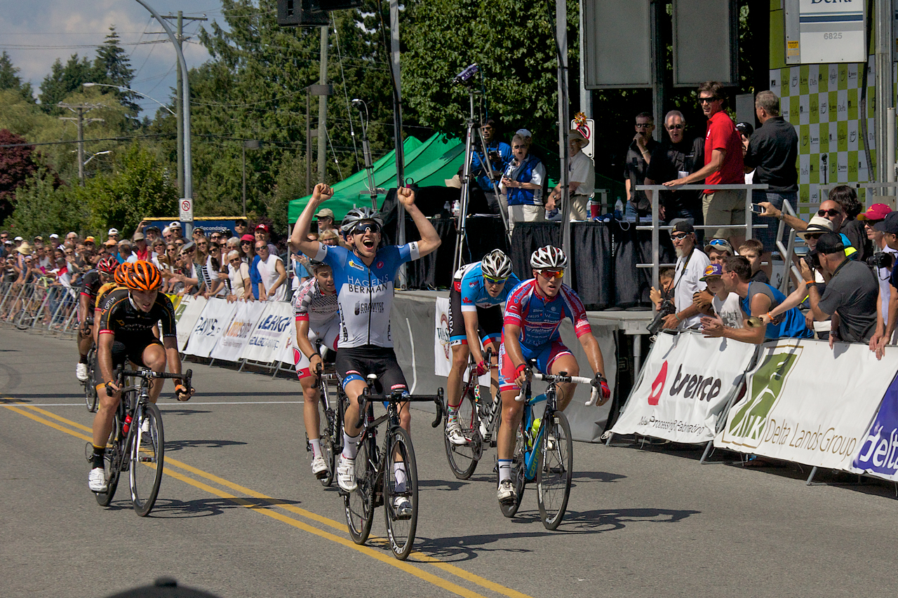Tour de Delta Winner, Photo by Ian Logie